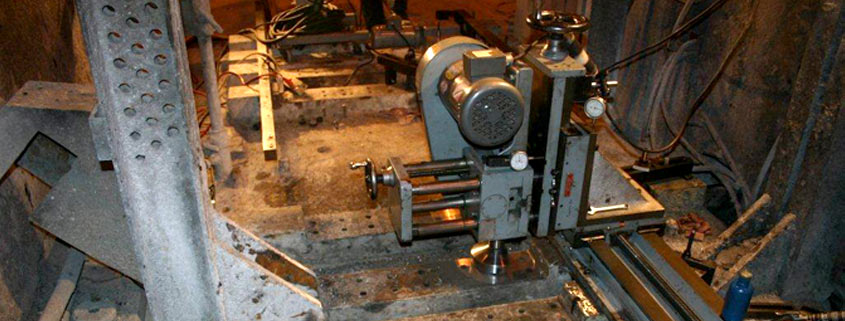 Portable and precision machining services performed by qualified technicians at your facility