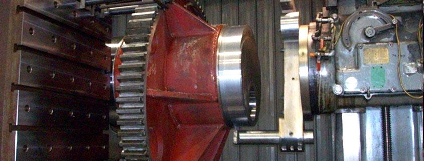 Machine being rebuilt at WI Industrial Machine Services